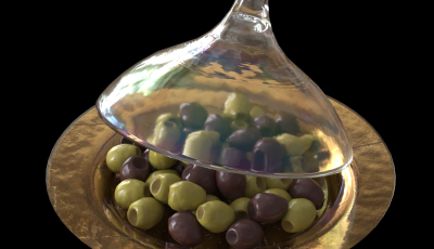 PearlGoldOliveCoveredGlassDish-Pathtracer_Roughness_0.07